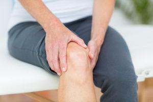 Knee rub ache pain